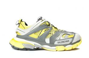 hommes new season wear balenciaga orange gray